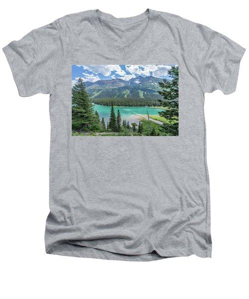 Cruise Control Men's V-Neck T-Shirt by Alpha Wanderlust
