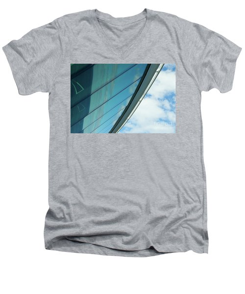 Cruise Ship Abstract Serenade Windows 1 Men's V-Neck T-Shirt
