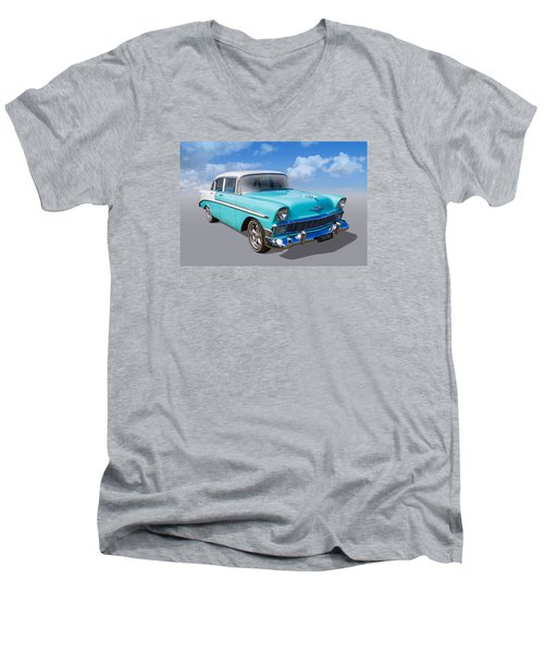 Men's V-Neck T-Shirt featuring the photograph Cruzing by Keith Hawley