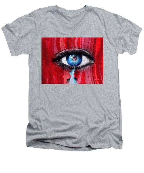 Cry Me A River Men's V-Neck T-Shirt