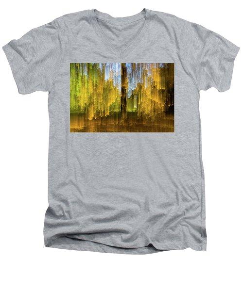 Crying Men's V-Neck T-Shirt