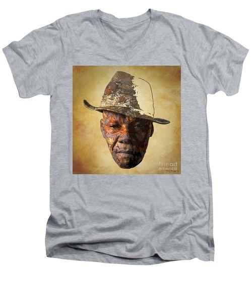 Cryptofacia 47 - Augustus Men's V-Neck T-Shirt