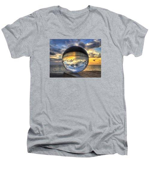 Crystal Ball 1 Men's V-Neck T-Shirt