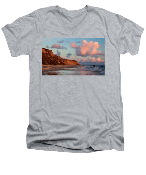 Crystal Cove Reflections Men's V-Neck T-Shirt