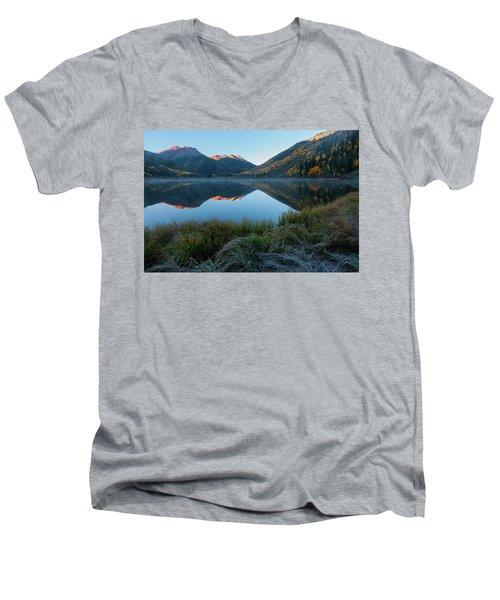 Crystal Lake - 0577 Men's V-Neck T-Shirt