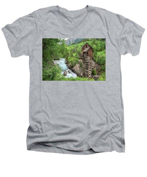 Crystal Mill Colorado 3 Men's V-Neck T-Shirt