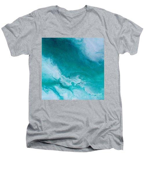 Crystal Wave14 Men's V-Neck T-Shirt