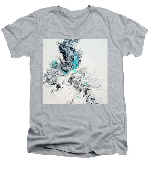 Crystals Of Ice Men's V-Neck T-Shirt