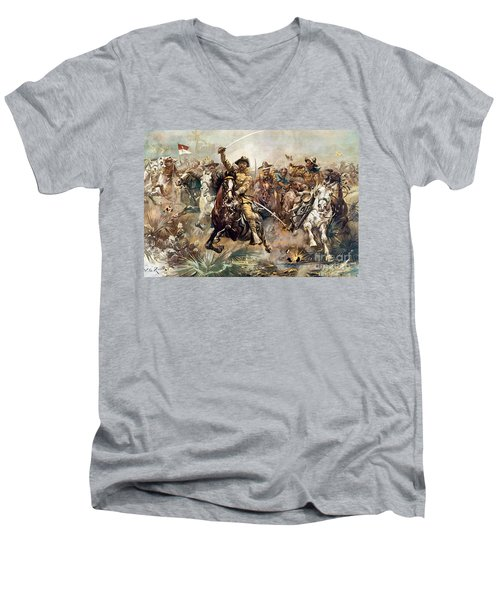 Cuba: Rough Riders, 1898 Men's V-Neck T-Shirt