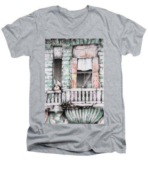 Cuba Today Men's V-Neck T-Shirt