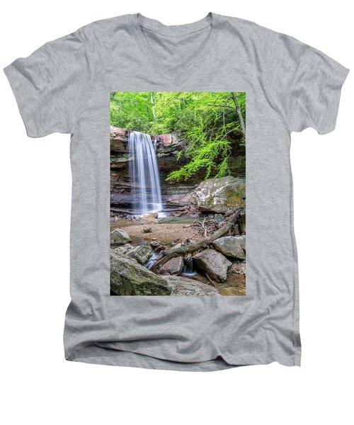 Cucumber Falls Men's V-Neck T-Shirt
