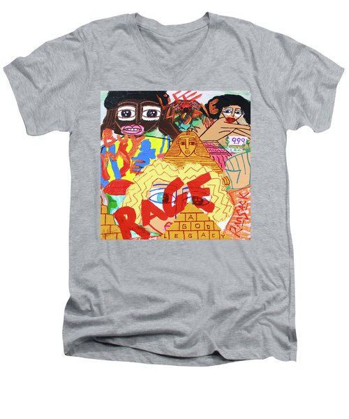 Culture Vultures Men's V-Neck T-Shirt