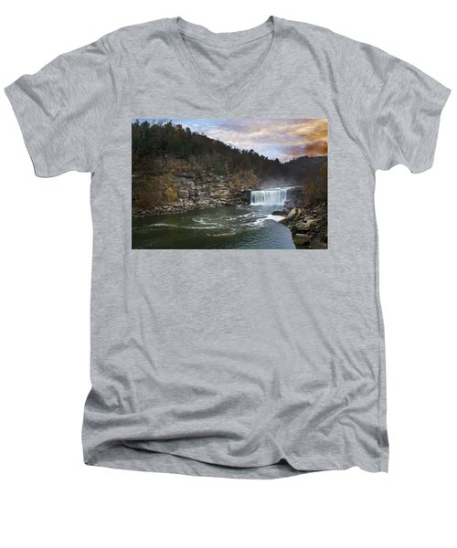 Cumberlland Falls Men's V-Neck T-Shirt