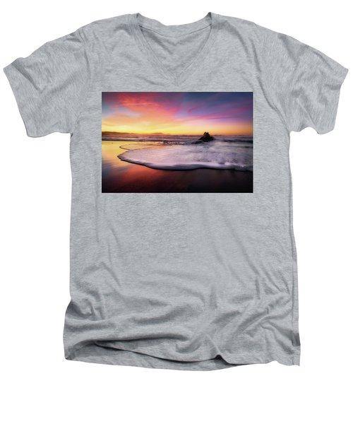 Cup Of Foam Men's V-Neck T-Shirt