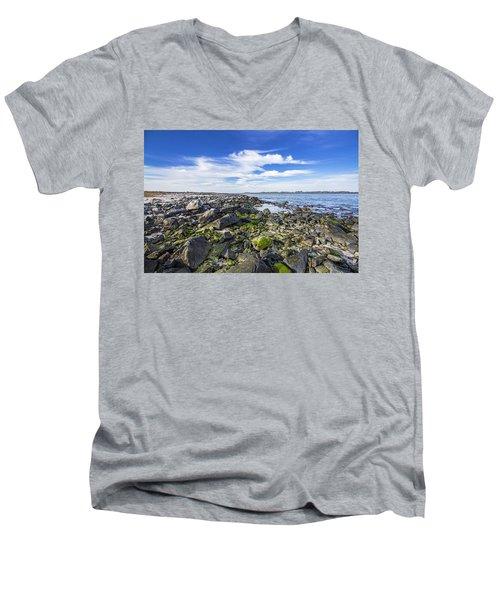 Cupsogue Bayside Men's V-Neck T-Shirt