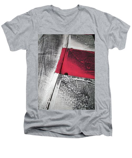 Curbs At The Canadian Formula 1 Grand Prix Men's V-Neck T-Shirt