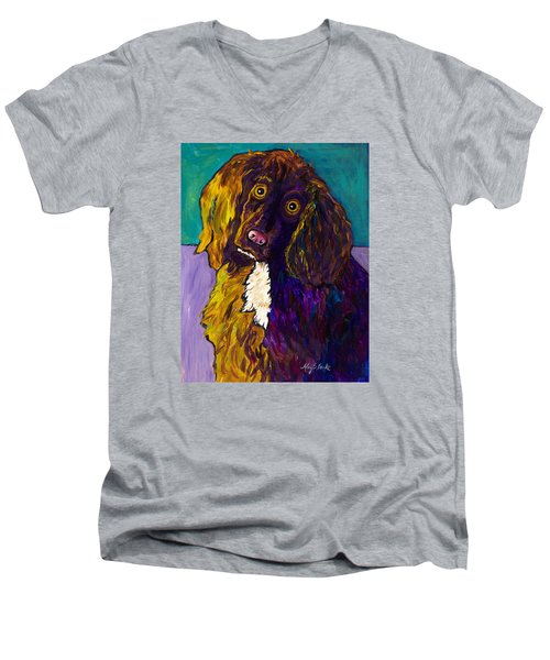 Curious Men's V-Neck T-Shirt