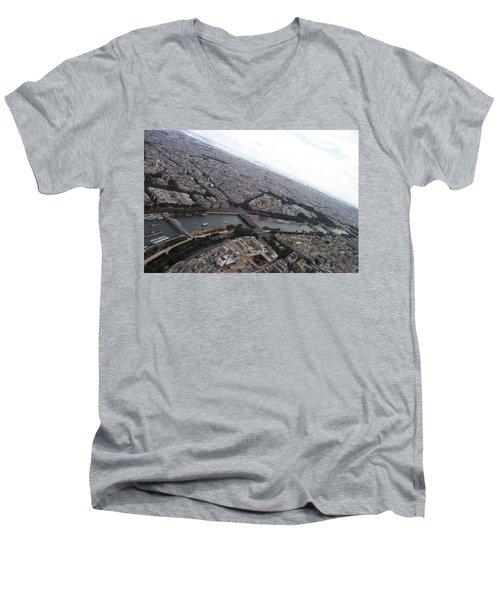 Curvature Men's V-Neck T-Shirt