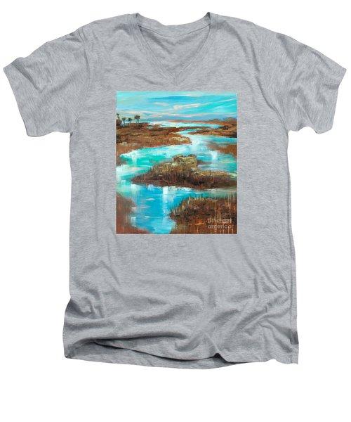A Few Palms Men's V-Neck T-Shirt