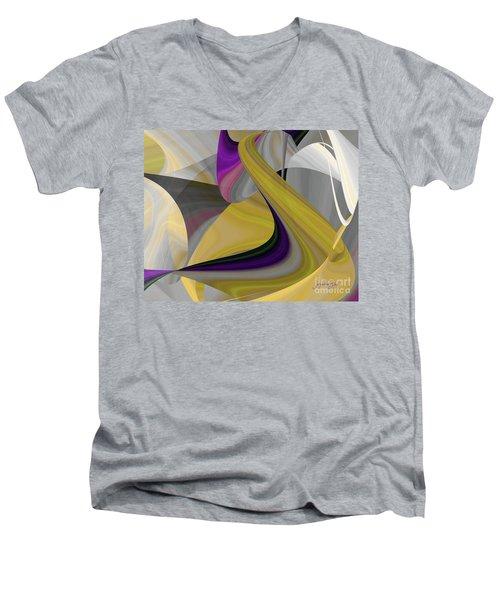 Curvelicious Men's V-Neck T-Shirt