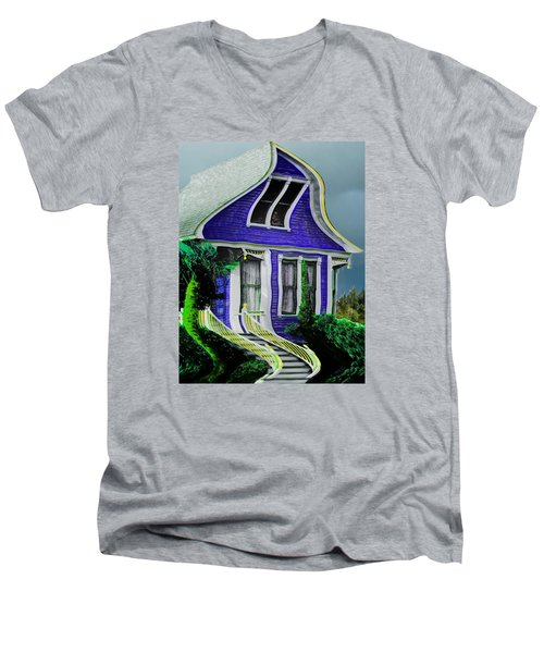 Curvy House Men's V-Neck T-Shirt