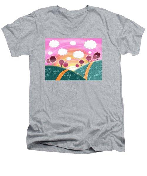 Cuteness Overload Men's V-Neck T-Shirt
