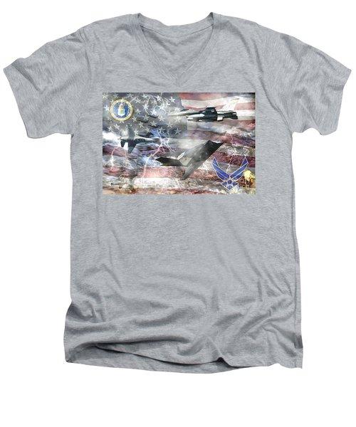 Cutting Edge Men's V-Neck T-Shirt
