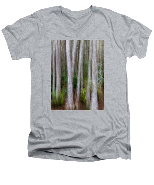 Cypress Swamp Men's V-Neck T-Shirt