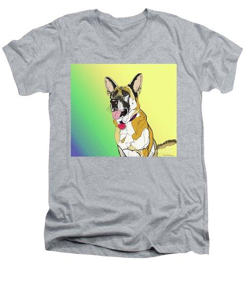 Czaki In Digi Men's V-Neck T-Shirt