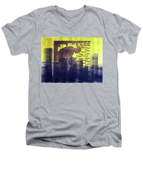 D U Rounds Project, Print 23 Men's V-Neck T-Shirt