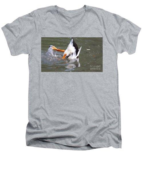 DA Men's V-Neck T-Shirt