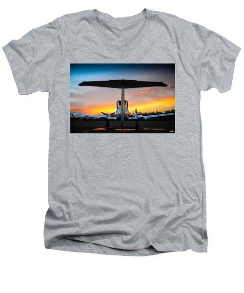 Da42 Facing The Dawn Men's V-Neck T-Shirt