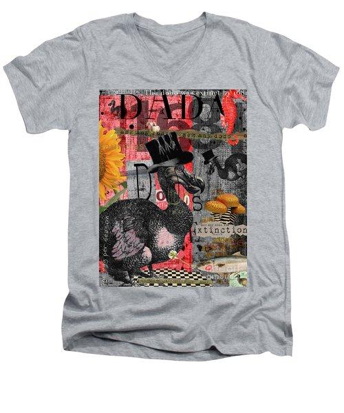 Dada Dodos Men's V-Neck T-Shirt