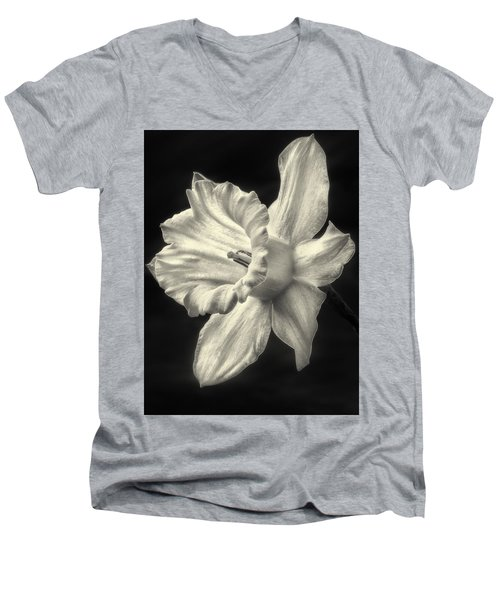 Daffodil Glow Men's V-Neck T-Shirt