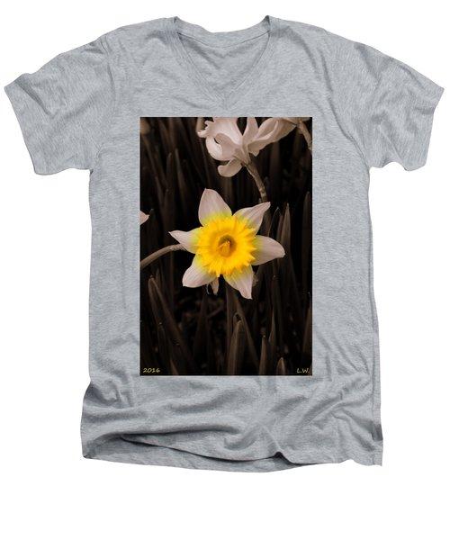Daffodil Men's V-Neck T-Shirt
