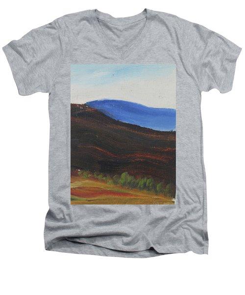 Dagrar Over Salenfjallen- Shifting Daylight Over Distant Horizon 2 Of 10_0035 50x40 Cm Men's V-Neck T-Shirt