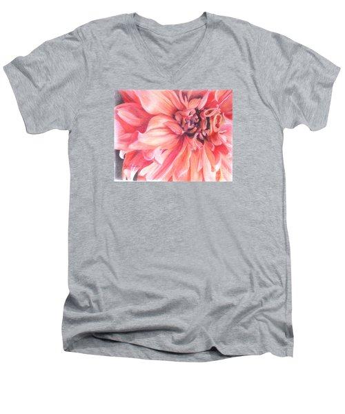 Dahlia 1 Men's V-Neck T-Shirt