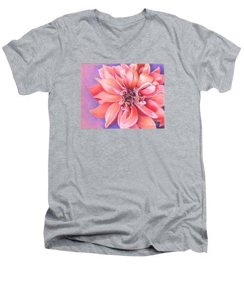 Dahlia 2 Men's V-Neck T-Shirt