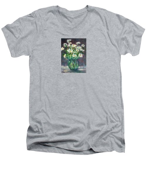Daises Men's V-Neck T-Shirt