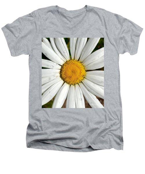 Daisy  Dew Men's V-Neck T-Shirt
