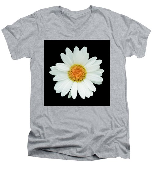Daisy Men's V-Neck T-Shirt