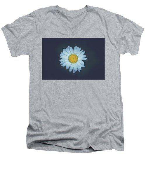 Men's V-Neck T-Shirt featuring the photograph Daisy  by Shane Holsclaw
