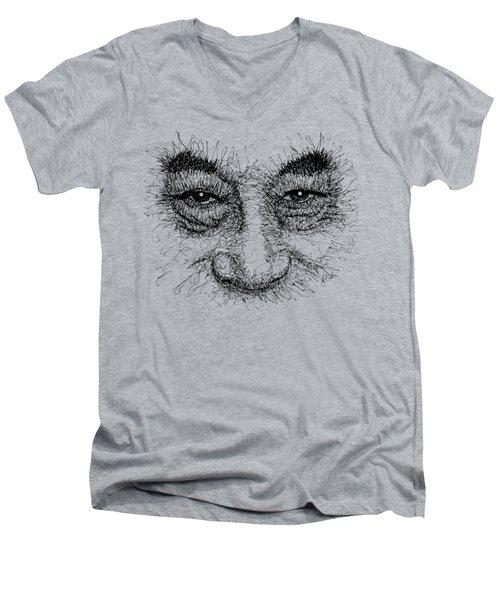 Dalai Lama T-shirt Men's V-Neck T-Shirt