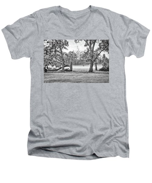 Dale - Foggy Morning Men's V-Neck T-Shirt