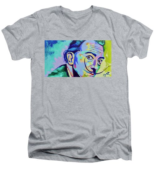 Dali 2 Men's V-Neck T-Shirt