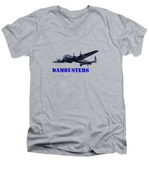 Dambusters Men's V-Neck T-Shirt by Scott Carruthers