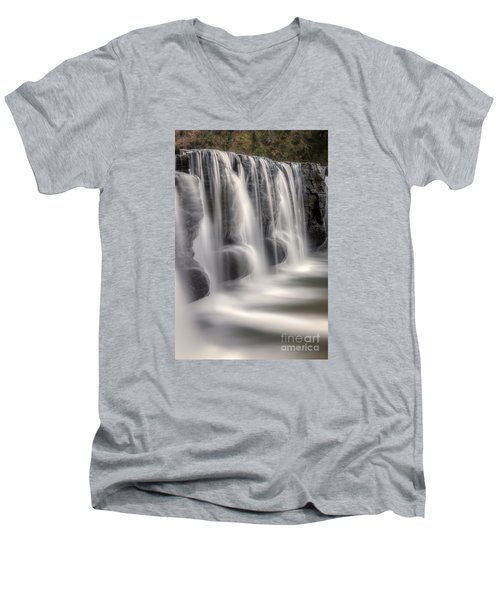 Dams Edge Men's V-Neck T-Shirt