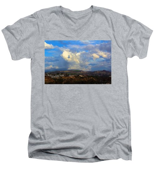 Dana Point View From Cliff Men's V-Neck T-Shirt
