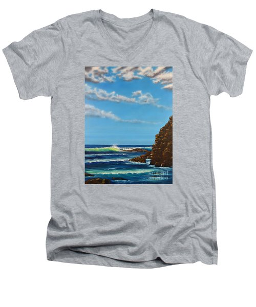 Dana Point Walk Men's V-Neck T-Shirt
