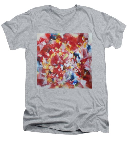 Dance Of The Lights Men's V-Neck T-Shirt